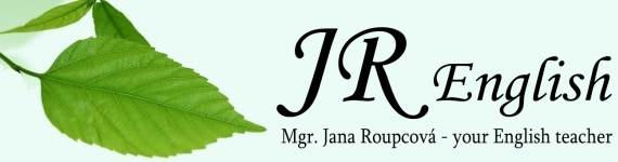 JR English logo